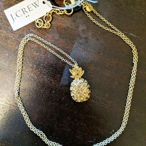 🆕NWT J. Crew Pineapple Long Necklace